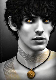 Фото Молодой чародей Merlin / Мерлин из сериала Merlin / Мерлин, by whimsycatcher