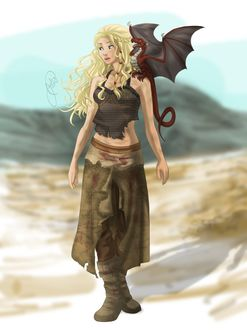 Фото Daenerys Targaryen / Дейнерис Таргариен из сериала Game Of Trones / Игра Престолов, by juliajm15