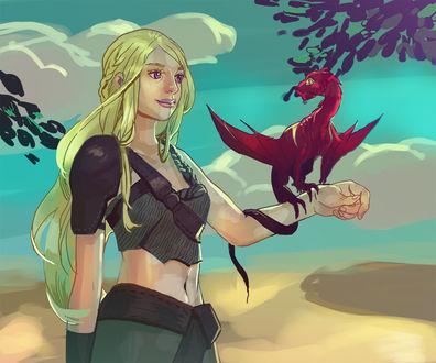 Фото Daenerys Targaryen / Дейнерис Таргариен из сериала Game Of Trones / Игра Престолов, by orientalowl