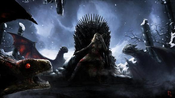 Фото Daenerys Targaryen / Дейнерис Таргариен из сериала Game Of Trones / Игра Престолов, by DaniNaimare