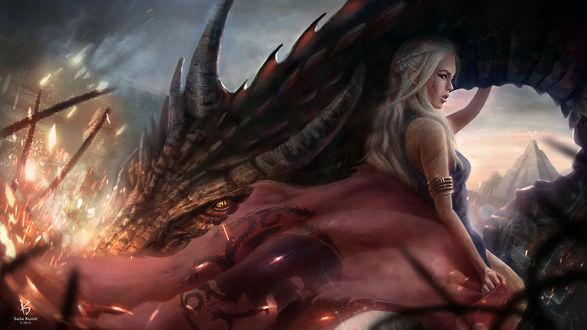 Фото Daenerys Targaryen / Дейнерис Таргариен из сериала Game Of Trones / Игра Престолов, by SigmaK