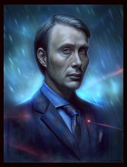 Фото Hannibal Lecter / Ганнибал Лектер из сериала Hannibal / Ганнибал, by SigmaK (© Морея), добавлено: 13.08.2017 13:47