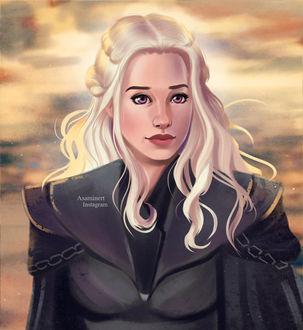 Фото Daenerys Targaryen / Дейнерис Таргариен из сериала Game Of Trones / Игра Престолов, by Asaminert (© Морея), добавлено: 13.08.2017 14:38