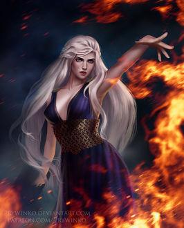Фото Daenerys Targaryen / Дейнерис Таргариен из сериала Game Of Trones / Игра Престолов, by Prywinko