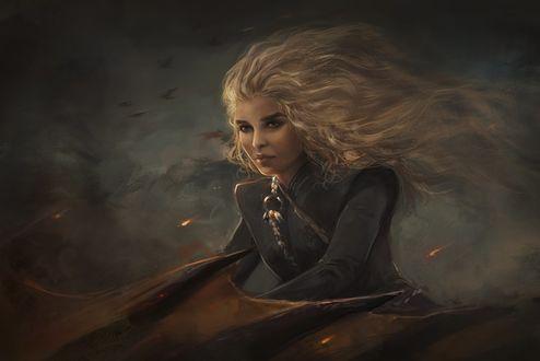 Фото Daenerys Targaryen / Дейнерис Таргариен из сериала Game Of Trones / Игра Престолов, by IndI-Art