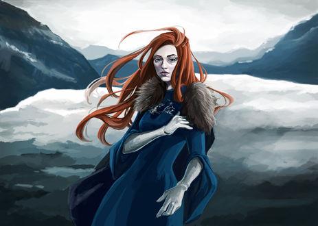 Фото Sansa Stark / Санса Старк из сериала Game Of Trones / Игра Престолов, by Virnavus