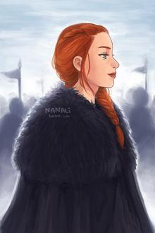 Фото Sansa Stark / Санса Старк из сериала Game Of Trones / Игра Престолов, by nanali-chi