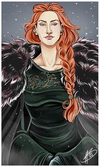 Фото Sansa Stark / Санса Старк из сериала Game Of Trones / Игра Престолов, by naomi-makes-art73