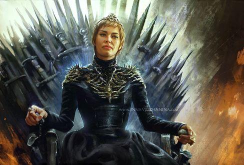 Фото Cersei Lannister / Серсея Ланнистер из сериала Game Of Trones / Игра Престолов, by Inna-Vjuzhanina