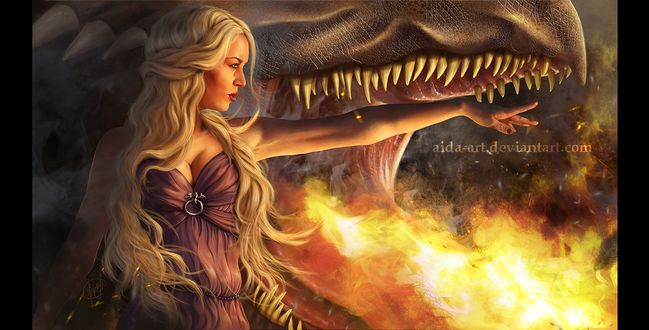 Фото Daenerys Targaryen / Дейнерис Таргариен из сериала Game Of Trones / Игра Престолов, by Inna-Vjuzhanina