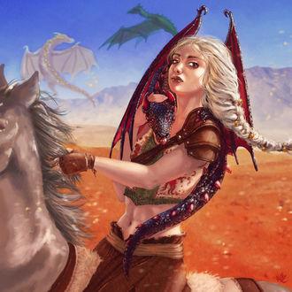 Фото Daenerys Targaryen / Дейнерис Таргариен из сериала Game Of Trones / Игра Престолов, by jameli
