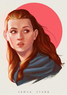 Фото Sansa Stark / Санса Старк из сериала Game Of Trones / Игра Престолов (Sansa Stark), by ZyrexTheZ
