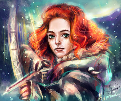 Фото Ygritte / Игритт из сериала Game Of Trones / Игра Престолов, by manulys