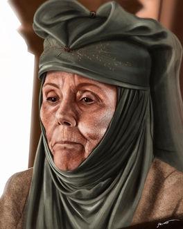Фото Olenna Tyrell / Оленна Тирелл из сериала Game Of Trones / Игра Престолов, by masteryue