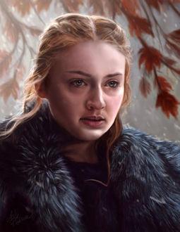 Фото Sansa Stark / Санса Старк из сериала Game Of Trones / Игра Престолов, by Ellana333