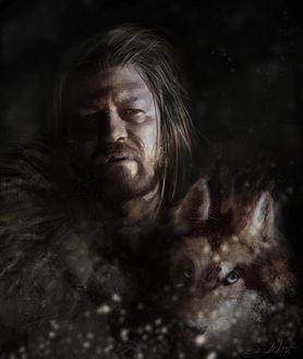 Фото Eddard Stark / Эддард Старк из сериала Game Of Trones / Игра Престолов, by dalisacg