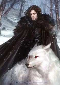 Фото Jon Snow / Джон Сноу из сериала Game Of Trones / Игра Престолов, by hart-coco