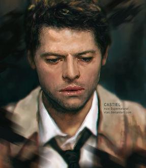 Фото Castiel / Кастиэль из сериала Supernatural / Сверхъестественное, by vtas