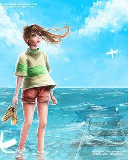 Фото Тихиро / Chihiro из аниме Унесенные Призраками / Spirited Away, by jennyshiii