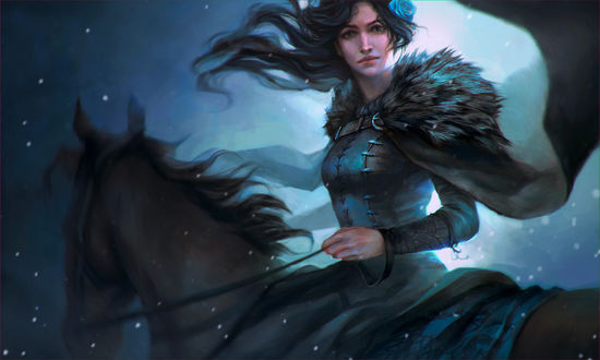 Фото Lyanna Stark / Лианна Старк из сериала Game Of Trones / Игра Престолов, by ValeryNeith