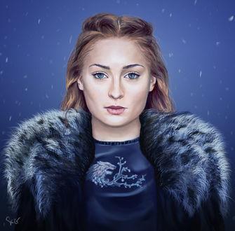 Фото Sansa Stark / Санса Старк из сериала Game Of Trones / Игра Престолов, by K1D6R4Y