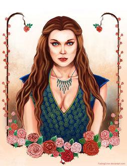 Фото Margaery Tyrell / Маргери Тирелл из сериала Game Of Trones / Игра Престолов, by FadingCrow
