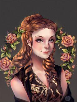 Фото Margaery Tyrell / Маргери Тирелл из сериала Game Of Trones / Игра Престолов, by anitori