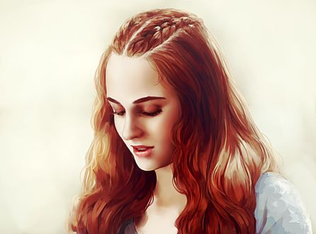 Фото Sansa Stark / Санса Старк из сериала Game Of Trones / Игра Престолов, by Allegro97