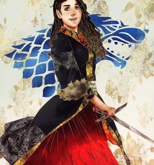 Фото Lyanna Stark / Лианна Старк из сериала Game Of Trones / Игра Престолов, by Allegro97
