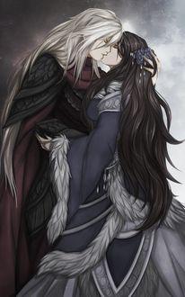 Фото Lyanna Stark / Лианна Старк и Rhaegar Targaryen / Рейегар Таргариен из сериала Game Of Trones / Игра Престолов, by FireEagleSpirit