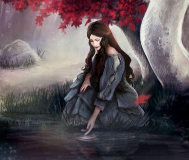 Фото Lyanna Stark / Лианна Старк из сериала Game Of Trones / Игра Престолов, by EvaMariaToker
