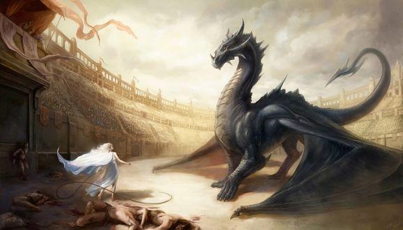 Фото Daenerys Targaryen / Дейнерис Таргариен из сериала Game Of Trones / Игра Престолов, by EvaMariaToker