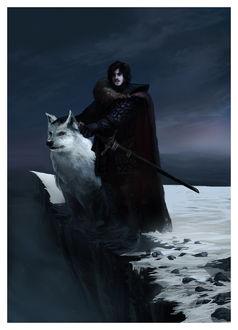 Фото Jon Snow / Джон Сноу из сериала Game Of Trones / Игра Престолов, by ReneAigner