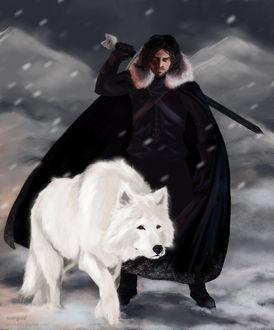 Фото Jon Snow / Джон Сноу из сериала Game Of Trones / Игра Престолов, by TawnyFritz