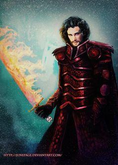 Фото Jon Snow / Джон Сноу из сериала Game Of Trones / Игра Престолов, by JunePage