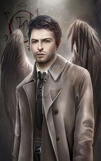 Фото Castiel / Кастиэль из сериала Supernatural / Сверхъестественное, by inermonster