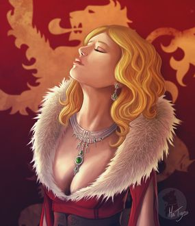 Фото Cersei Lannister / Серсея Ланнистер из сериала Game Of Trones / Игра Престолов, by Mini-Tigress