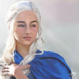 Фото Daenerys Targaryen / Дейнерис Таргариен из сериала Game Of Trones / Игра Престолов, by Visxnya
