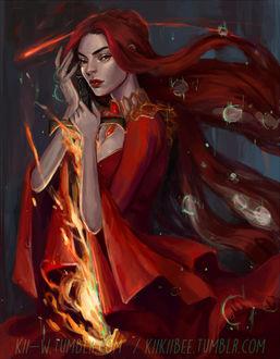 Фото Melisandre / Мелиссандра из сериала Game Of Trones / Игра Престолов, by kiikii-sempai