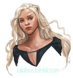 Фото Daenerys Targaryen / Дейнерис Таргариен из сериала Game Of Trones / Игра Престолов, by kiikii-sempai