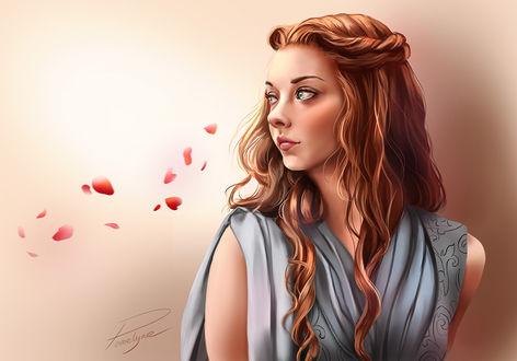 Фото Margaery Tyrell / Маргери Тирелл из сериала Game Of Trones / Игра Престолов, by Pomelyne