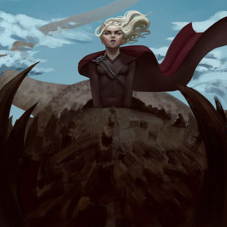 Фото Daenerys Targaryen / Дейнерис Таргариен из сериала Game Of Trones / Игра Престолов, by FilipJKD