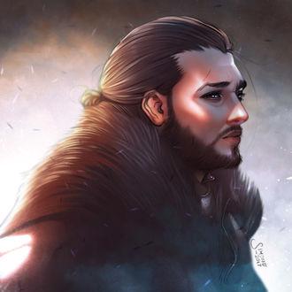 Фото Jon Snow / Джон Сноу из сериала Game Of Trones / Игра Престолов, by simoneferriero