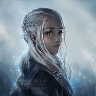 Фото Daenerys Targaryen / Дейнерис Таргариен из сериала Game Of Trones / Игра Престолов, by daekazu
