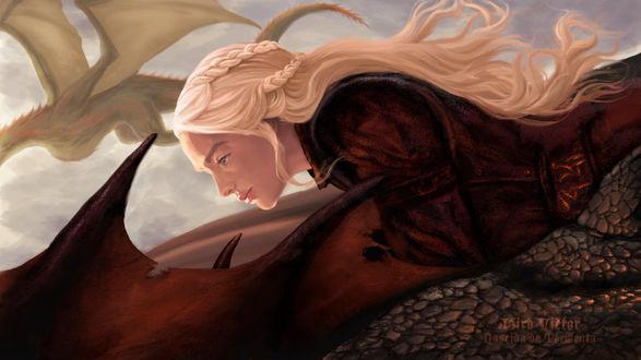 Фото Daenerys Targaryen / Дейнерис Таргариен из сериала Game Of Trones / Игра Престолов, by WaterSorcerer