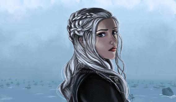 Фото Daenerys Targaryen / Дейнерис Таргариен из сериала Game Of Trones / Игра Престолов, by Kariinn