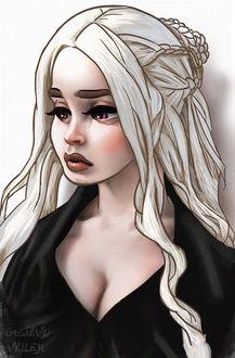 Фото Daenerys Targaryen / Дейнерис Таргариен из сериала Game Of Trones / Игра Престолов, by DarkeDny
