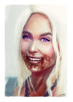 Фото Daenerys Targaryen / Дейнерис Таргариен из сериала Game Of Trones / Игра Престолов, by nixuboy