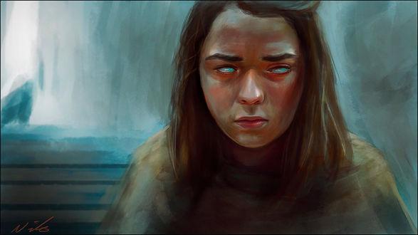 Фото Arya Stark / Арья Старк из сериала Game Of Trones / Игра Престолов, by nixuboy