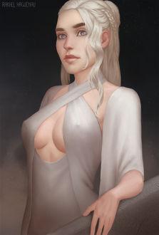 Фото Daenerys Targaryen / Дейнерис Таргариен из сериала Game Of Trones / Игра Престолов, by RakhelHaguenau
